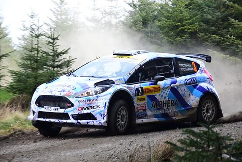 Osian Pryce - Dale Furniss, Ford Fiesta R5, MSA British Rally Championship, Carlisle 2017