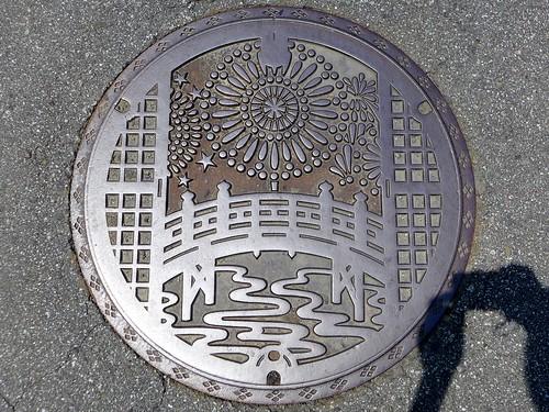 Ichikawadaimon Yamanashi, manhole cover (山梨県市川大門町のマンホール)