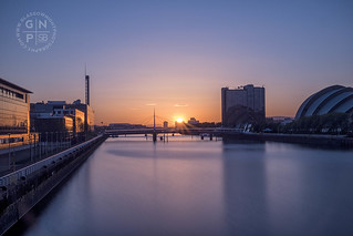 Sunset on the Clyde | by SkintoBalinto