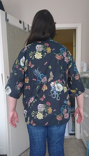 Kimono Jacket (On Me) 3 - From behind