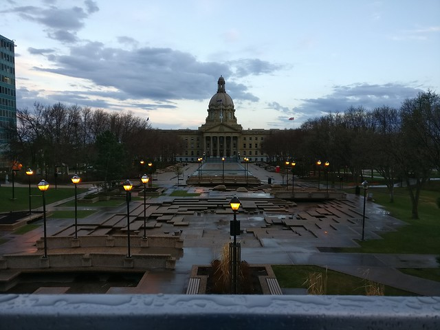 Rainy Legislature Grounds
