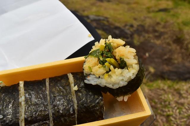 八丈島 明日葉ロール寿司