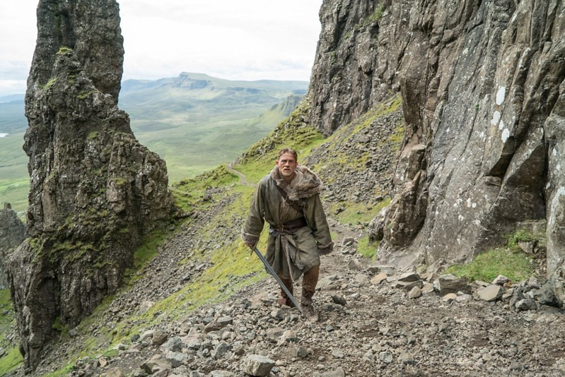King Arthur Legend of the Sword shooting locations
