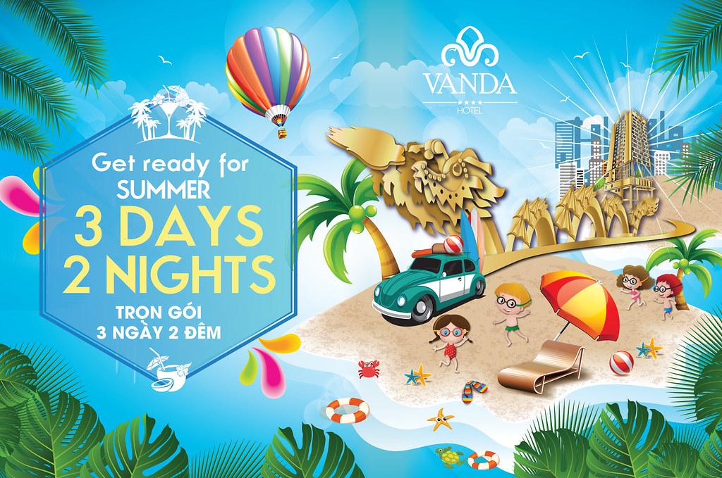 Vanda Hotel Khuyến mãi mùa hè - Trọn gói 3 ngày 2 đêm chỉ với 4.000.000đ