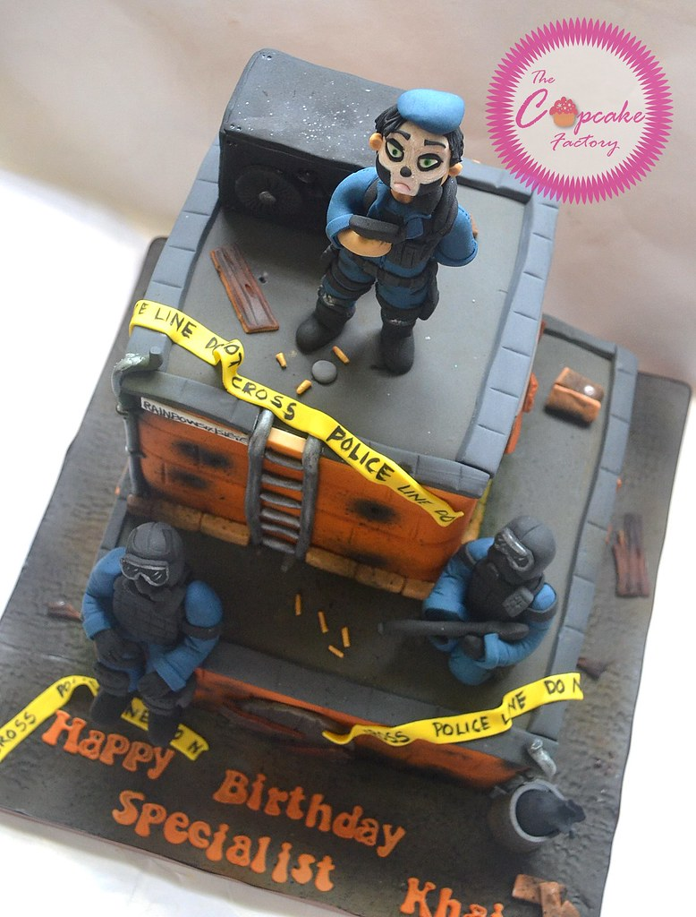 Rainbow Six Siege Cake The Cupcake Factory Barbados Flickr