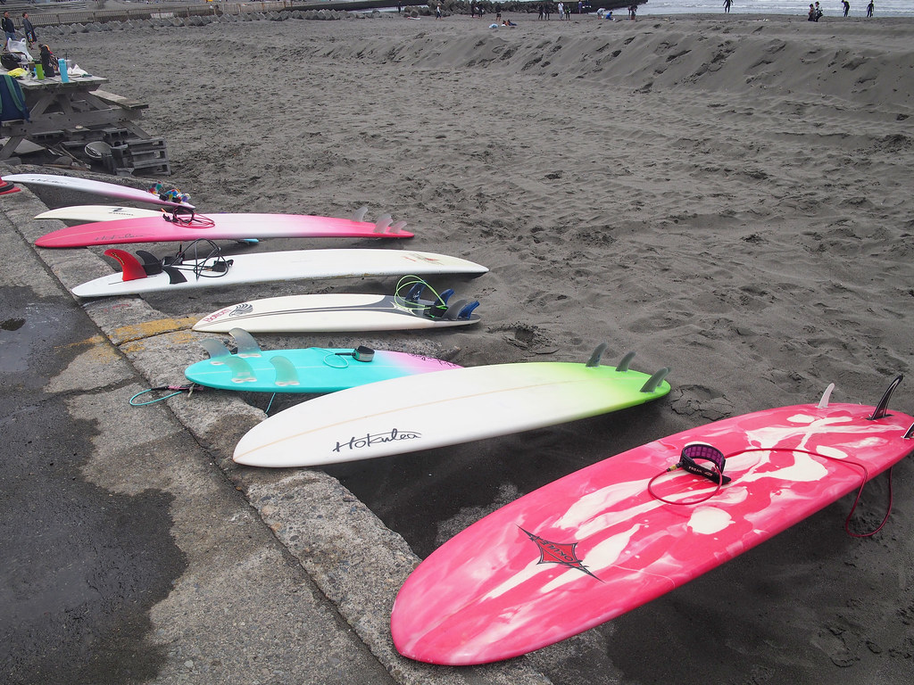 After Surfing...
