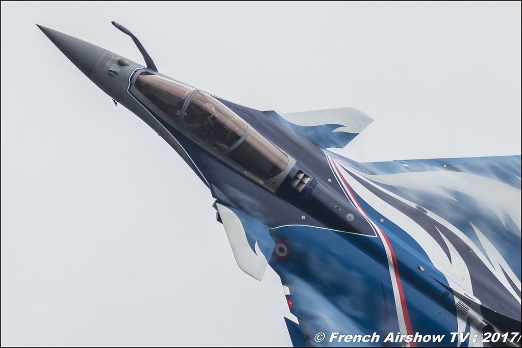 Rafale Solo Display 2017 , Armée de l'air , marty , rafale dassault team , Meeting de l'Air BA-106 Bordeaux Merignac , meeting aerien 2017 , Airshow