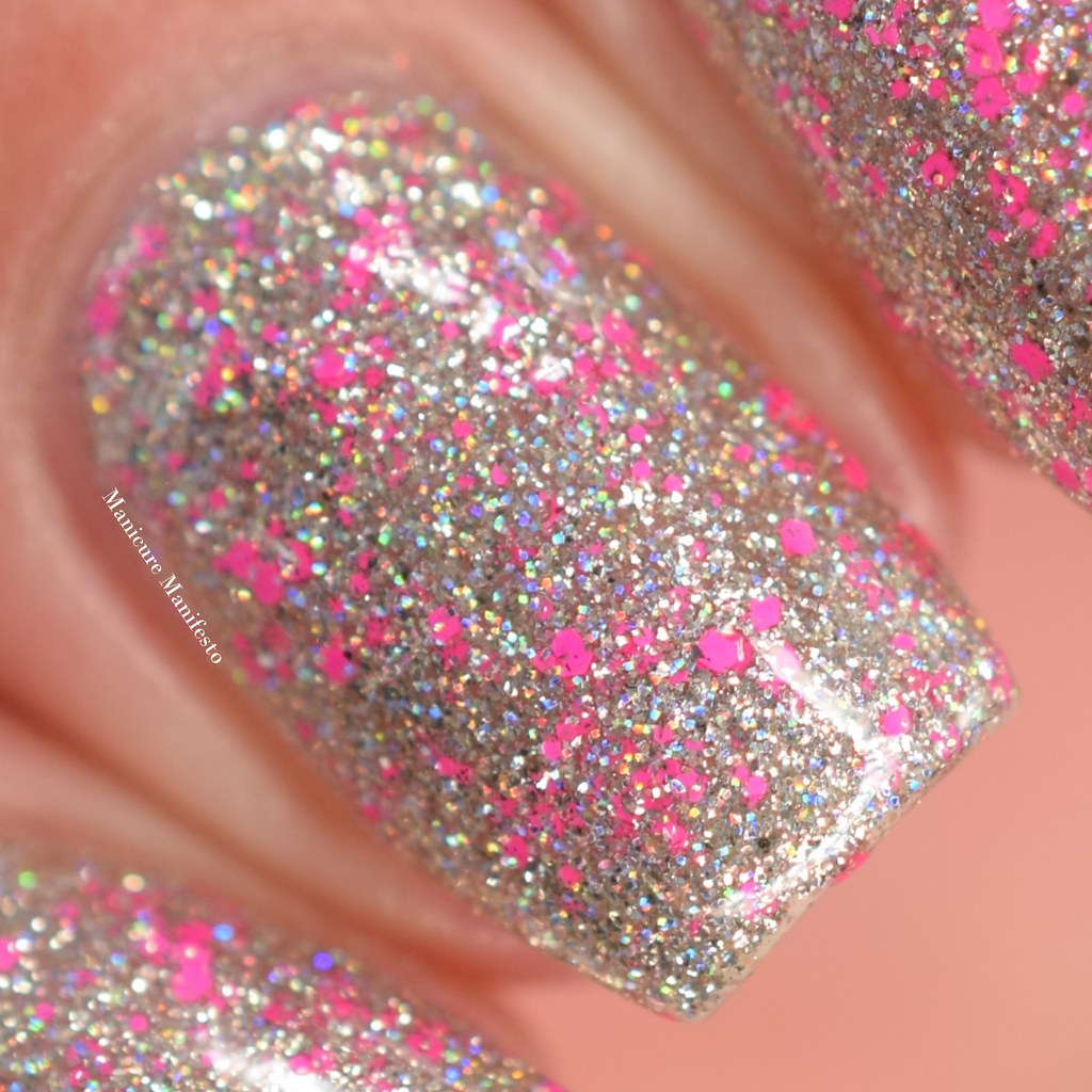Girly Bits Sequins and satin pants swatch
