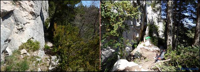 Berguedà - Zona Fígols -03- Grau de La Mola - 05- Pies de vía