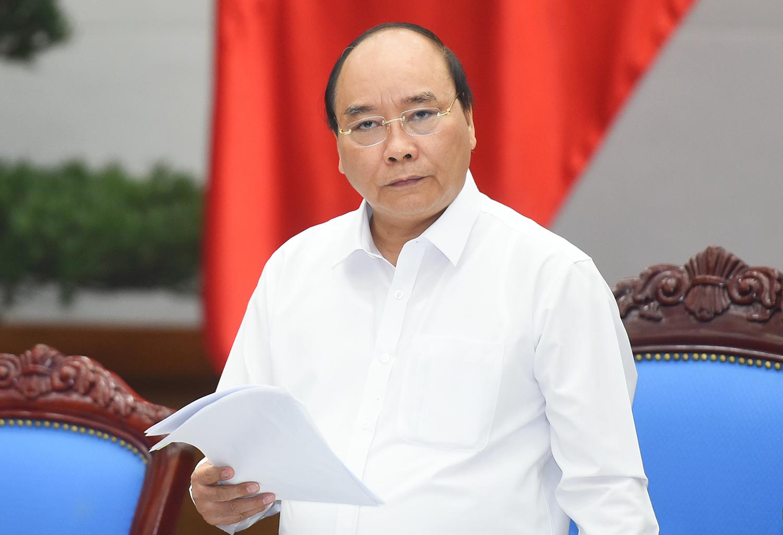 Thủ tướng Nguyễn Xuân Phúc: Không được để xảy ra những trường hợp tương tự như với dưa hấu, thịt lợn - Ảnh: VGP/Quang Hiếu