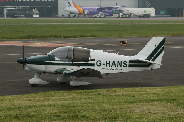 G-HANS parked.