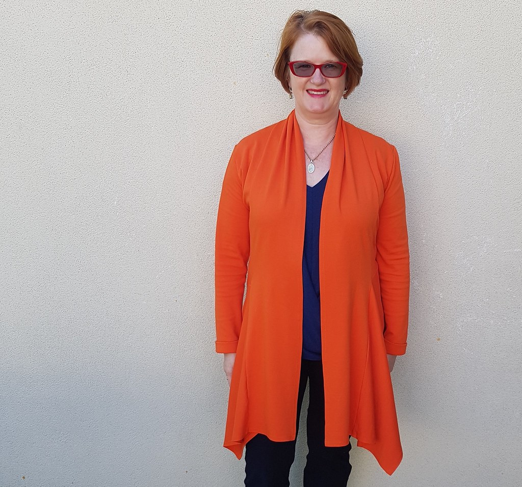 Style Arc Nina Cardigan in ponte from Darn Cheap Fabrics
