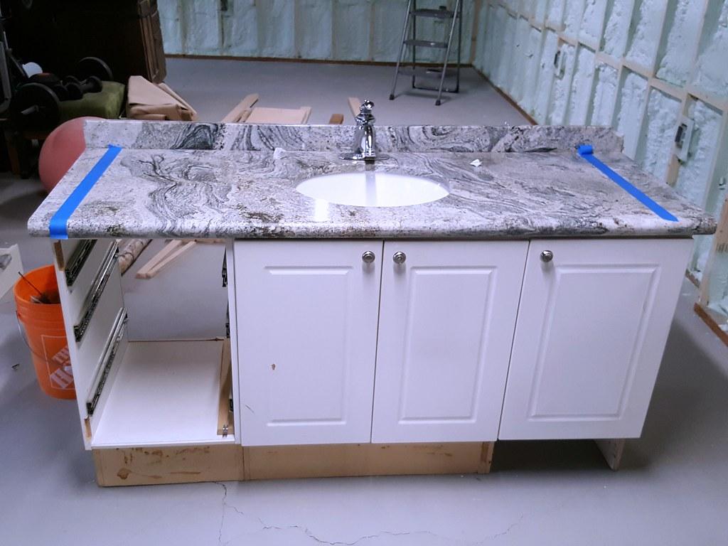 granite top vanity - Restore
