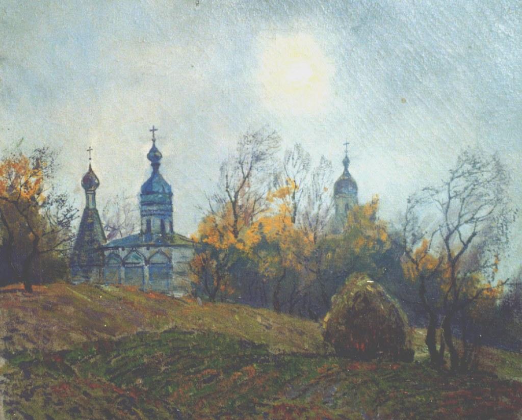 维克多·阿斯塔利采夫画作选09