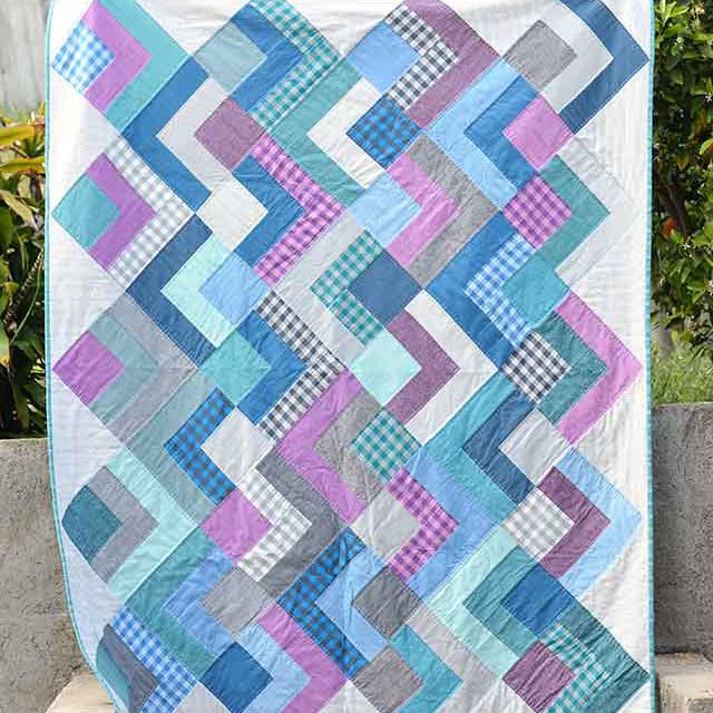 Dapper Squares Quilt Tutorial