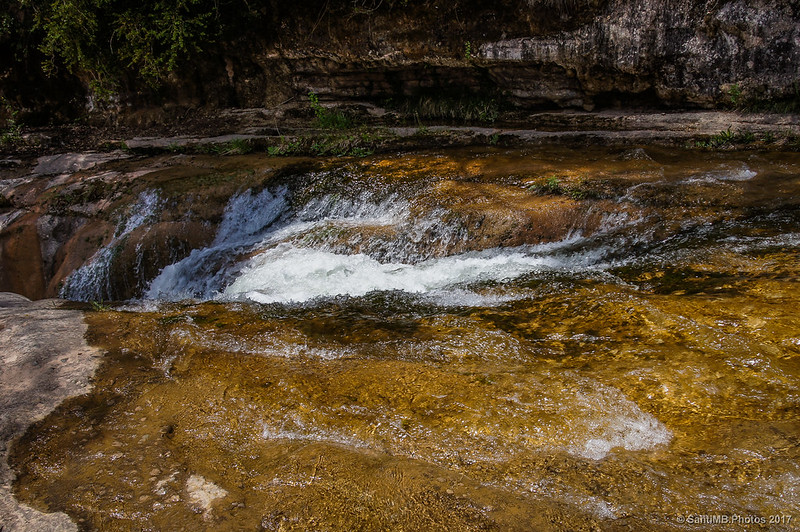 Cascada en la Riera de Merlès
