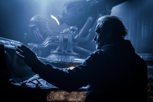 Prometheus - Backstage - Ridley Scott - directing - 1