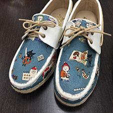 屬於我的帆布鞋
