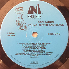 DON BARON:YOUNG,GIFTED AND BLACK(LABEL SIDE-A)