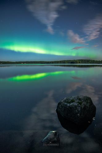 Northern Lights in Kirkkonummi 3-9