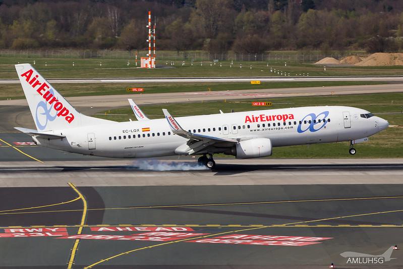 Air Europa - B738 - EC-LQX (2)