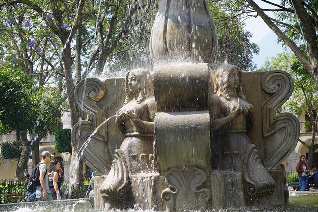 Fuente de las Sirenas, Antigua Guatemala