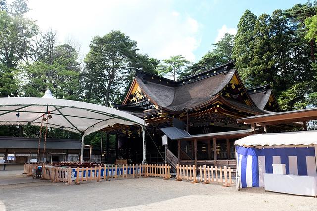 仙台 大崎八幡宮 社殿