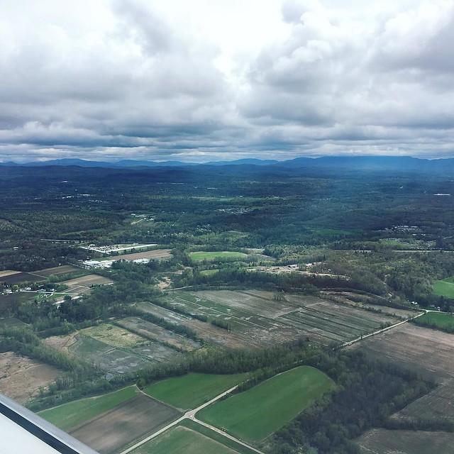 Back in the VT.