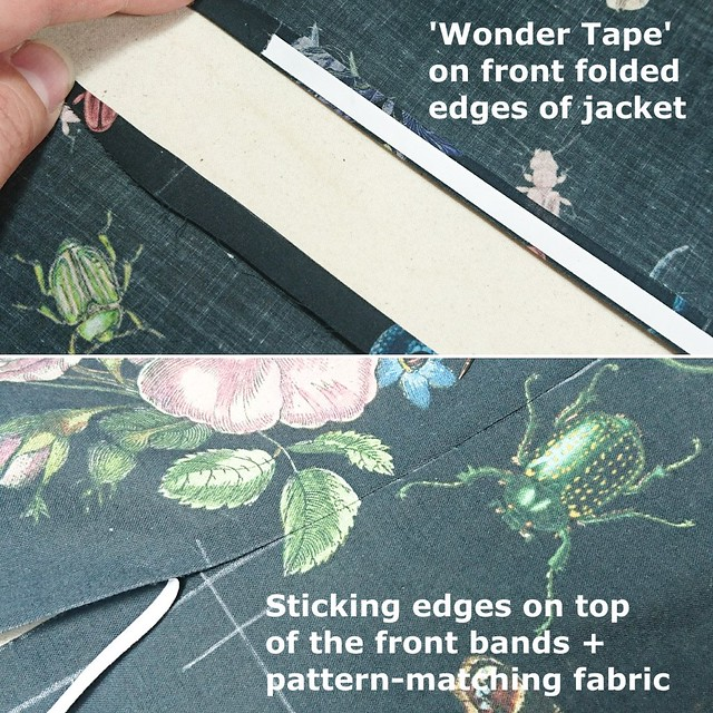 Front Bands 0 - Wonder Tape and Pattern Matching