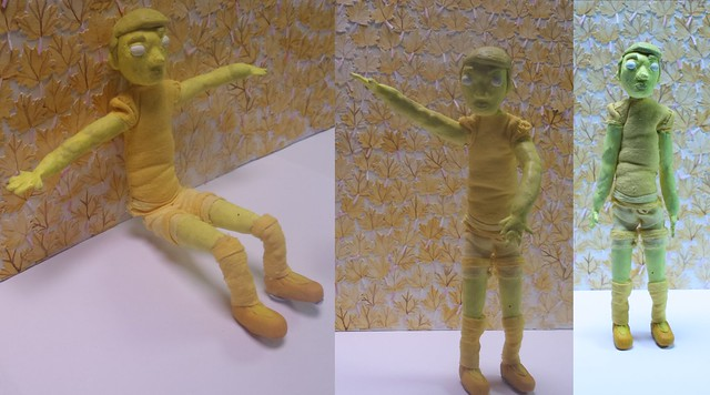 Puppet Making - Yellow Boy Tim