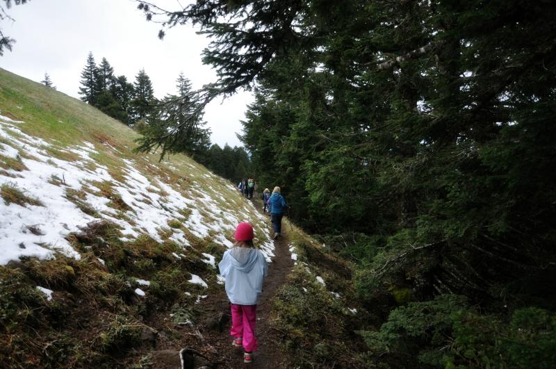 Marys Peak Snow @ Mt. Hope Chronicles