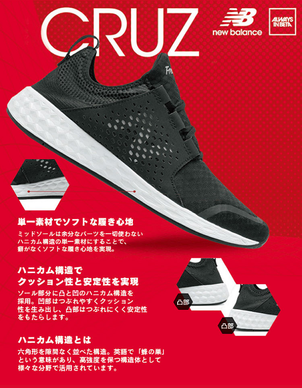 ABCマートの「new balance FRESH FOAM CRUZ」新CM公開!