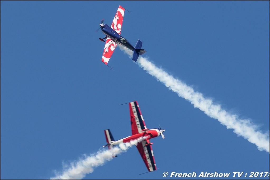 équipe de voltige de l'Armée de l'Air , voltige synchronisée , patrouille , team EVAA , Meeting de l'Air BA-106 Bordeaux Merignac , meeting aerien 2017 , Airshow