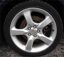 subaru impreza 2000 tire size