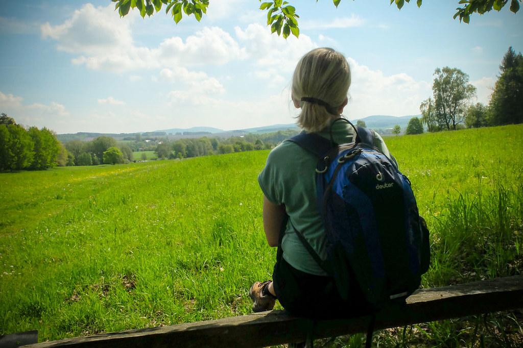 Durch Wald und Flur zum Keulenberg