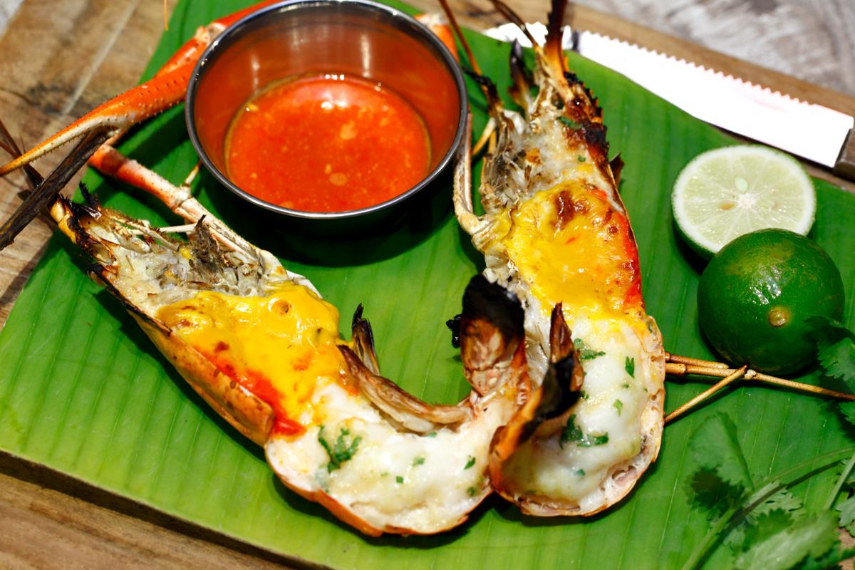 Bubu Grill Seafood Thai Style Grilled Prawn