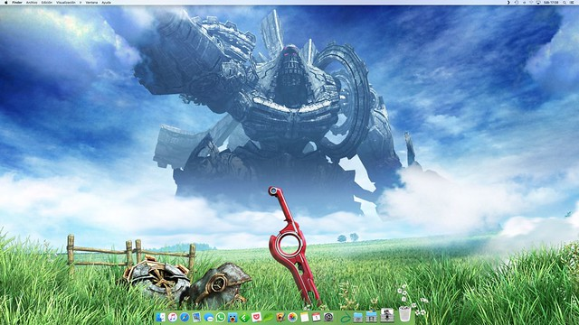 Wall May: Xenoblade