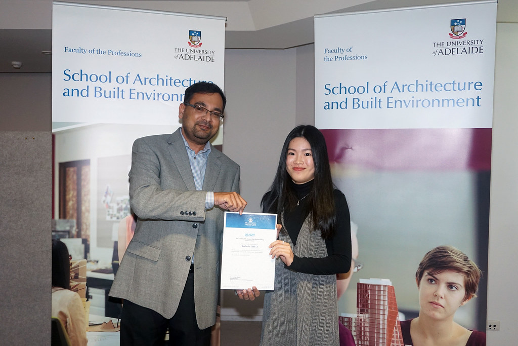 2016 Winner: Isabelle Chua - Presented by Ashesh Singh (Business Development Manager)