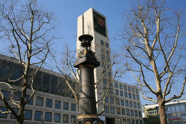 Stuttgart city center city hall