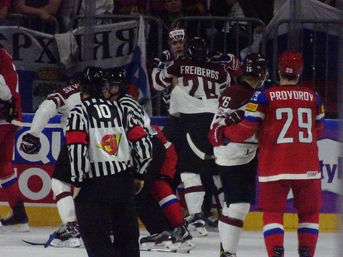 Russia 5:0 Latvia