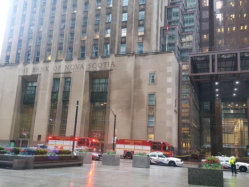 King Street Toronto explosions