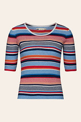 Seasalt Ailsa top, multi stripe