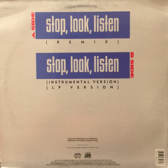 MC LYTE:STOP,LOOK,LISTEN(JACKET B)