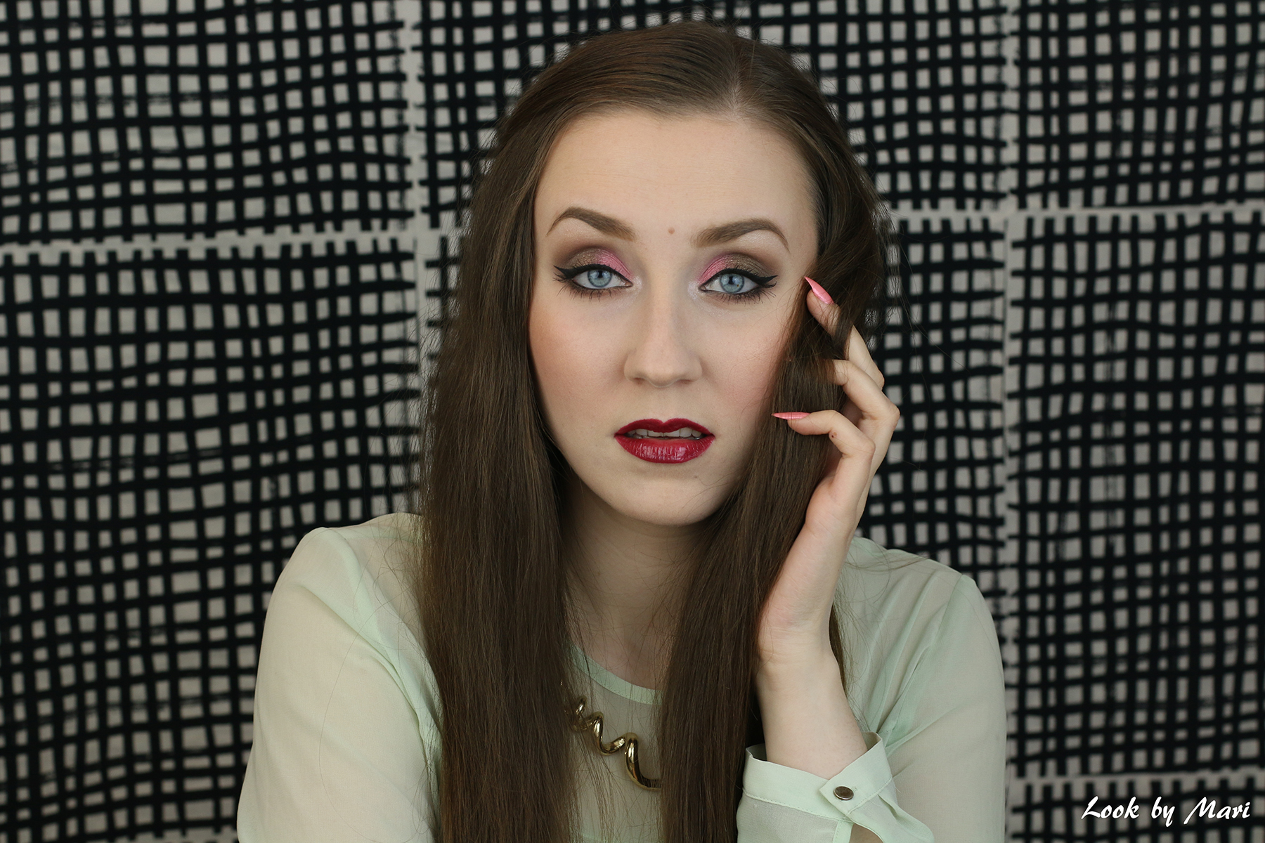 1 pop of color spring makeup inspo inspiration look ideas