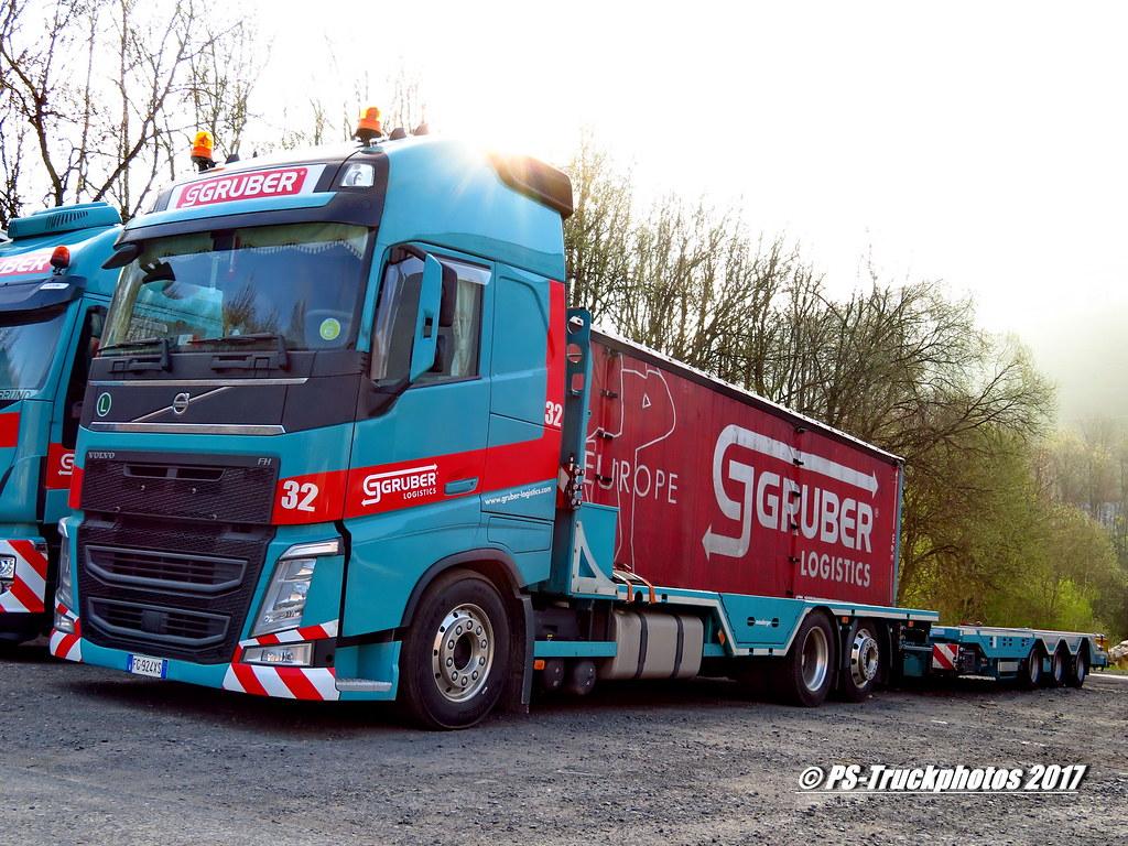 IMG_0239 VOLVO FH13 GlobetrotterXL GRUBER Logistics 32 FG9… | Flickr
