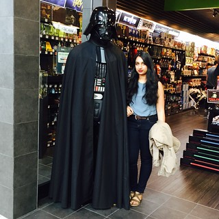 Me with Darth Vader