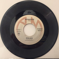 POLICE:ROXANNE(RECORD SIDE-A)