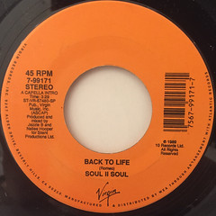 SOUL II SOUL:BACK TO LIFE(LABEL SIDE-A)