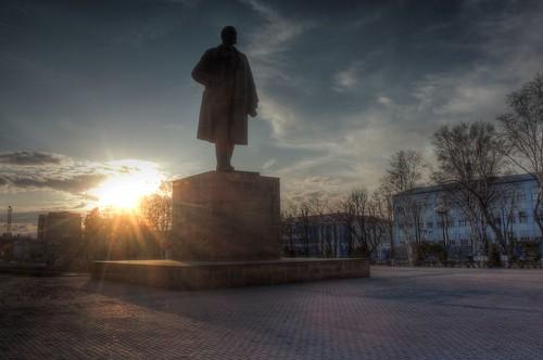 Yuzhno-Sakhalinsk in evening on APR 26, 2017 (16)