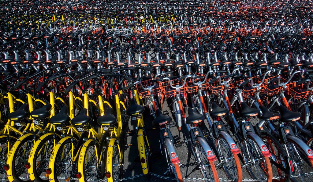 CHINA-TRANSPORT-BIKES-IMPOUND